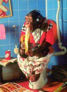 scimmiottare